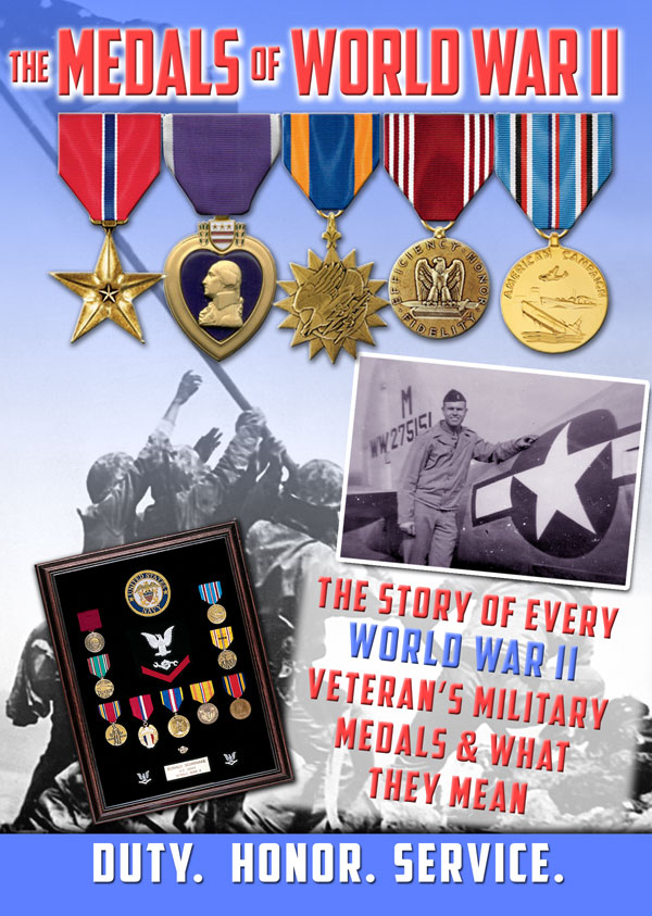 THE MEDALS OF WORLD WAR II - DVD Military Documentary