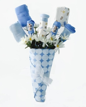 New Baby Bouquet Gift For Boys
