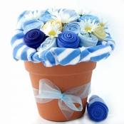 Baby Boy Onesie Bouquet
