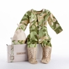 Two Piece Camouflage Baby Sleeper Set