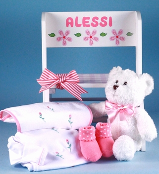 Deluxe Step Stool Set For Girls