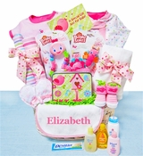 "Baby Girl ""Garden Buddies"" Gift Basket"