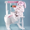 Little Girl's Personalized Rocking Chair Set