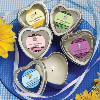 Heart Shaped Scented Candles