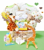 Jolly Jungle Baby Gift Basket