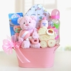 New Baby Girl Gift Tin