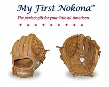 NOKONA PERSONALIZED BASEBALL GLOVE
