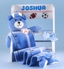 Personalized Sports Step Stool Set For Boys