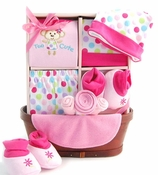 Sweet Little Baby Girl Basket