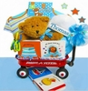 Baby Boy First Teddy Bear Gift Set