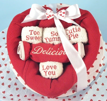 Valentine�s Day Baby Boxed Bouquet