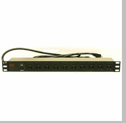 PDU-R1510 10 Outlets 19 inch RackMount Power Distribution Unit