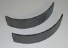 Parking Brake Lining Set For M35/M54/M809 Series, 12356756