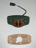 Side Clearance Light LED (383-Green Housing) Amber Lens, 12446845-1 / 12422973-001