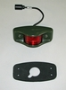 Side Clearance Light LED (383-Green Housing) Red Lens, 12446845-2