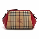 Burberry Haymarket Bonded Mini Blaze Crossbody