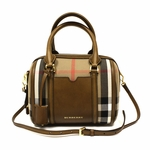 Burberry House Check Satorial Alchester Bowling Bag 3903916