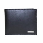 Fendi Black Leather Mens Wallet 7M0008