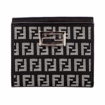 Fendi Black Womens Wallet 8M0188