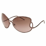 Fendi Bronze Oversized Sunglasses FS178