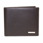 Fendi Brown Leather Mens Bifold Wallet 7M0008