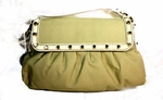 Fendi Chef Canvas and Leather Bag 8BR445