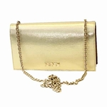 Fendi Gold Chain Clutch 8M2019