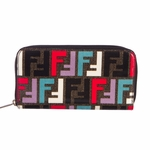 Fendi Multi Colored Zucca Wallet 8M0024