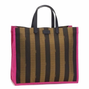 Fendi Pequin Shopping Tote - Large