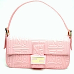 Fendi Pink Leather Baguette 8BR000