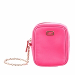 Fendi Pink Leather Wristlet 7AR219