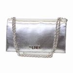Fendi Silver Chain Clutch 8M0219