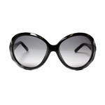 Fendi Women's Black Oval Sunglasses FS5141