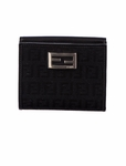 Fendi Black Logo Women's Wallet 8M0188