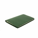 GUCCI 247262 Gucci Micro Guccissima Notebook Agenda Green Leather