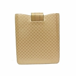 GUCCI 256575 Gucci Pink Mirco GG Logo Guccissima Leather iPad 2 Case