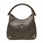 Gucci 268637 D Ring Brown Leather Hobo Bag Medium