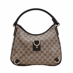 GUCCI 268637 Gucci Medium Crystal D Ring Hobo Bag