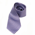 GUCCI 293527 Gucci Men's Blue Silk Tie