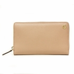 GUCCI 309705 Gucci Betty Light Pink Leather Zip Around Wallet