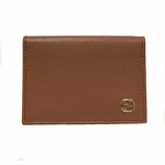 GUCCI 309712 Coral Leather ID Wallet with Interlocking GG Logo