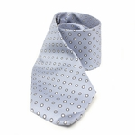 GUCCI 313353 Gucci Men's Silk Polka Dot Blue Tie