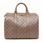 Gucci 362720 GUCCI Joy Boston Satchel Bag Purple Leather