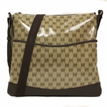 Gucci 374411 Large Gucci Crystal Crossbody Messenger Bag
