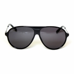 Gucci All Black Aviator Sunlgasses