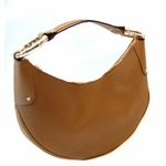 Gucci Bamboo Leather Hobo Tan 211519