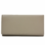 Gucci Beige Leather Continental Flap Wallet 305282