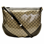 Gucci Black and Silver Messenger Bag 272380