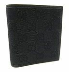Gucci Black Bi Fold Wallet 252080