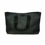 Gucci Black Canvas Diamonte Bag